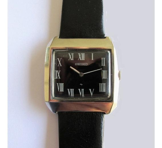 Relógio Seiko 2220-3170 Caixa De Aço Corda Manual, Raro 1975
