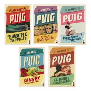 Pack 2 Manuel Puig - Ojos De Greta Garbo + Noche Tropical +3