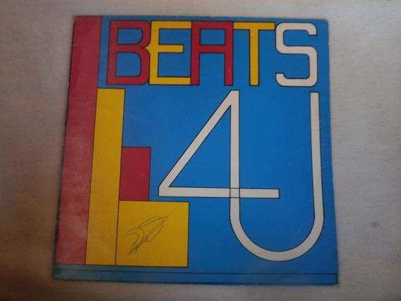 Lp Beats L4u - Diversos, Disco Vinil Raro, Djs