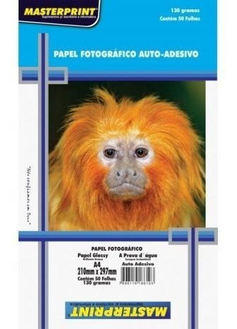 Kit Papel Fotográfico Dupla Face 180g