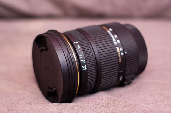 Lente Sigma 17-50 F2.8 Para Canon Com Estabilizador.