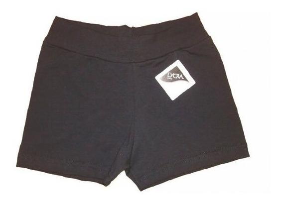 Pack 3 Calza Mini Short Ile Colegial Algodón Y Lycra Niñas