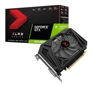 Placa Video Pny Geforce Gtx 1650 Super Xlr8 Gaming 4gb Gddr6