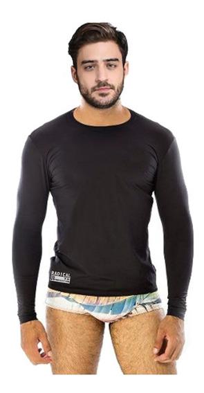 Camisa Com Proteção Solar-blusa Uv Unisex-moda Fitness-kit 5