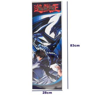 Yu Gi Oh Yugioh Poster Largo Seto Kaiba Dragon Blanco Ojos