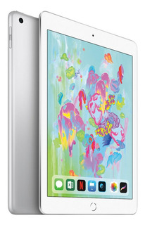 iPad 9.7 32 Gb Plateado Mr7g2le/a Retina Ios 11 Huella