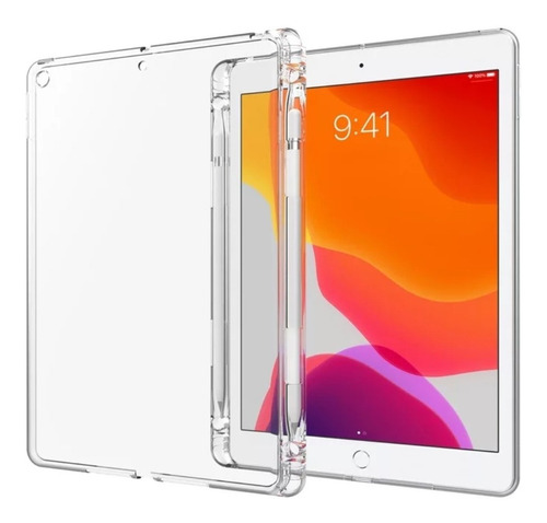 Clear Case Soporte Lapiz iPad 11 Pro / 2020