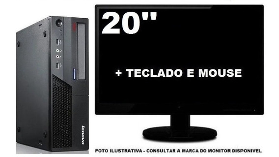 Lenovo Thinkcentre M58 Dualcore 4gb Ddr3 120ssd