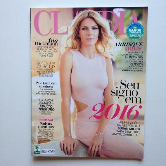 Revista Claudia 2016 - Ana Hieckmann - Rainer Cadete