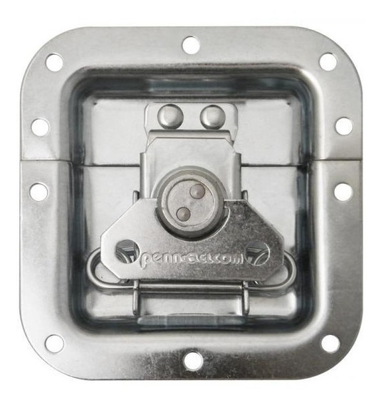 Kit 2 Fecho Borboleta P/case C/porta Cadeado Pennelcon 4786