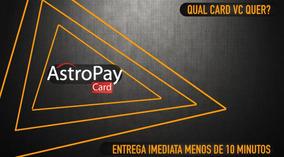 Astropay Card 50brl Promocao Leia Descricao. Obrigado