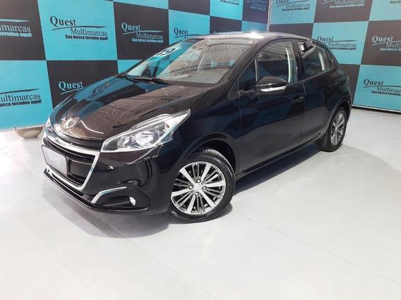 Peugeot 208 Griffe 1.6 Flex 16v 5p Aut. - Preto - 2019