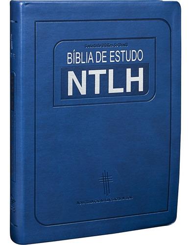 Imagem 1 de 6 de Bíblia De Estudo Ntlh Grande 17x23,5 Linguagem De Hoje
