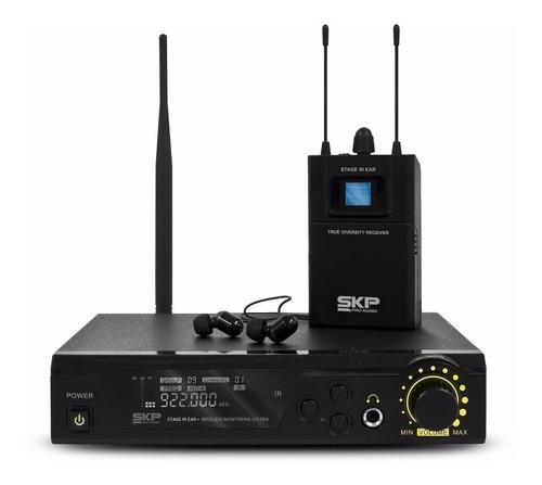 Imagen 1 de 8 de Skp Stage In Ear Sistema Monitoreo Intra Aural Inalámbrico