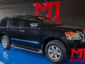 Nissan Armada 5.6 Advance 4x2 2013 Negra $ 267,000