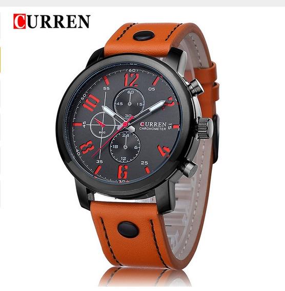 Relógio Curren Esportivo 8192 Quartz Masculino Militar
