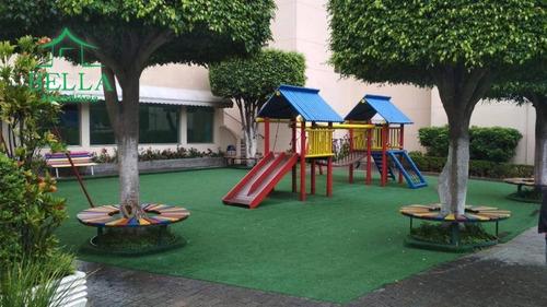 Apartamento Com 2 Dormitórios À Venda Por R$ 330.000 - Parque Maria Domitila - São Paulo/sp - Ap1170