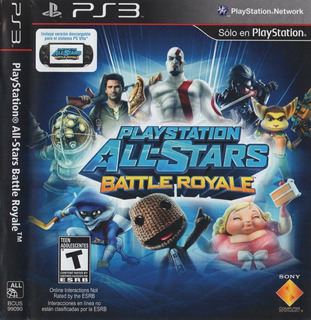 Juego Ps3 Playstation All Stars