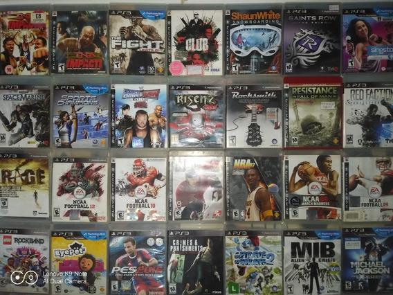 Pacote De 4 Jogos Playstation 3 Ps3 Midia Fisica Original