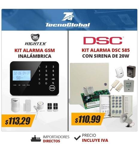 Imagen 1 de 4 de Kit Alarma Para Casa Dsc  1832  Alarma Antirrobo Alarma Dsc