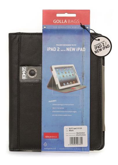 Capa Em Polyester Preto Apple iPad 2 New iPad G1329 Golla
