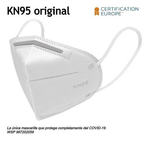 Imagen 1 de 5 de Mascarilla Respirador Kn95 Certificada Importada ( N95 )