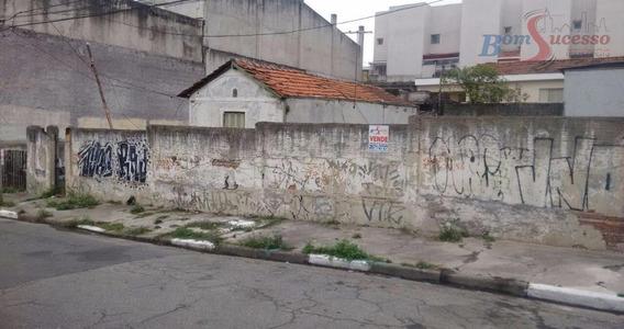 Terreno Residencial À Venda, Vila Prudente, São Paulo. - Te0140