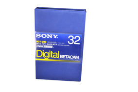 Sony Fita Video Betacam Digital Bct-d32 Nova Lacrada Kit 10