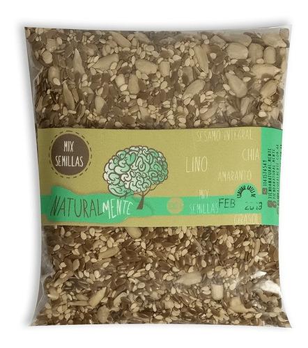 Mix De Semillas 100 G Lino Girasol Chia Sesamo