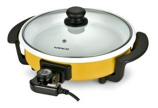 Sarten Electrica Olla Multifuncion Ceramica Winco W53 1500w