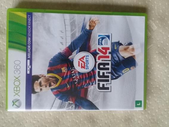 Fifa 14 Xbox 360. Usado, Em Bom Estado.