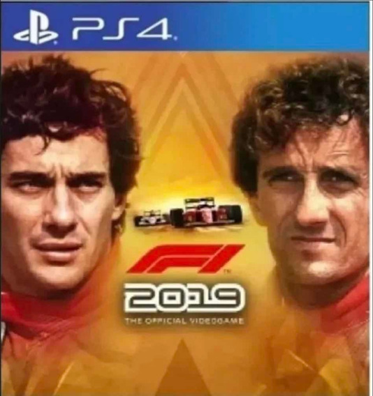 F1 2019 Legends Edition Ps4 Jogo Original