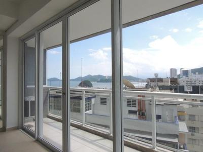 Flat Em Pompéia, Santos/sp De 59m² Para Locação R$ 3.500,00/mes - Fl169691