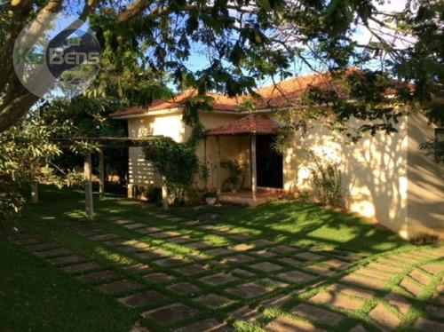 Rancho À Venda, 200 M² Por R$ 500.000,00 - Zona Rural - Carmo Do Rio Claro/mg - Ra0002