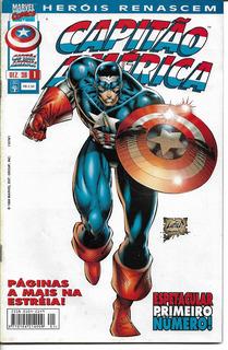 Hq - Capitão América - Heróis Renascem