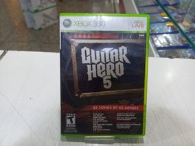 Jogo Guitar Hero 5 Xbox 360 Original Seminovo