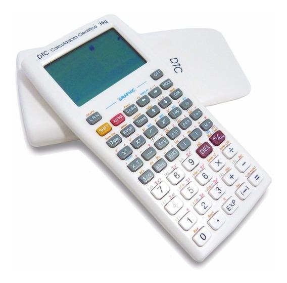 Calculadora Científica E Gráfica Dtc 35g - 360 Funções