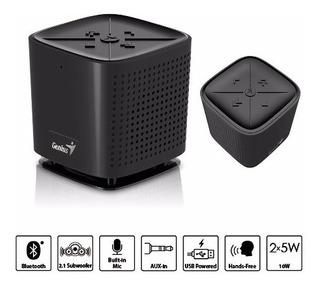 Genius Parlante Portatil Bluetooth 4.0 Black Sp-920bt 6 Watt