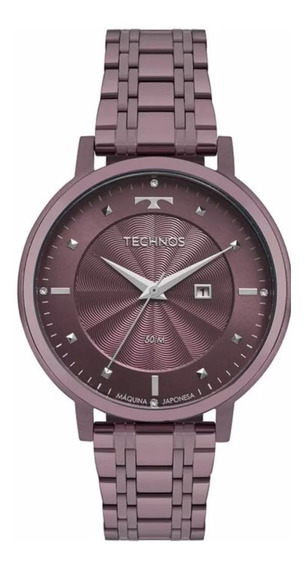Relógio Technos Feminino Mod 2015ccu/5g - Roxo - Original/nf