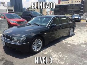 Bmw Serie 7 Blindado Nivel 3