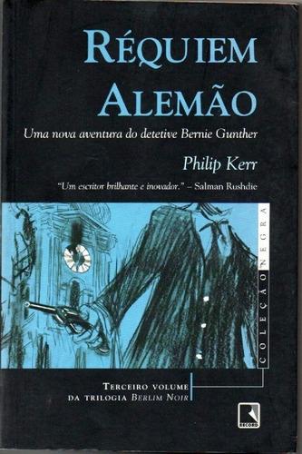Livro Réquiem Alemão De Philip Kerr