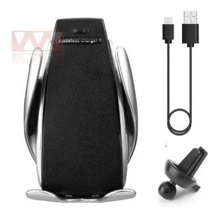 Carregador Veicular Wireless Qi Smart Sensor Charger S5 Haiz