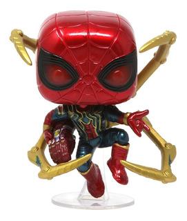 Funko Pop! Iron Spider Con Guantelete Avengers Engame 574
