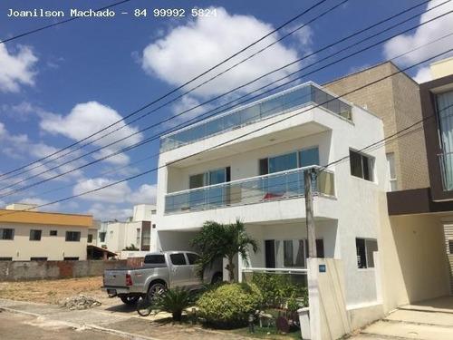 Casa Em Condomínio Para Venda Em Natal, Cidade Satélite/pitimbu - Parco Della Veritá, 4 Dormitórios, 4 Suítes, 6 Banheiros, 2 Vagas - Cas0439_2-434344
