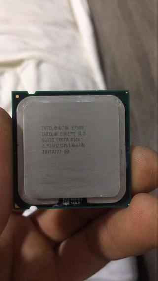 Processador Intel Duo Core E7500 2,93 Ghs