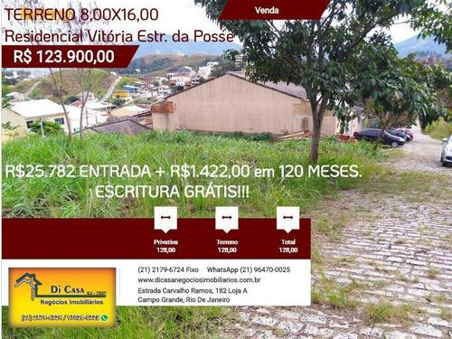 Imagem 1 de 15 de Terreno Para Venda Em Rio De Janeiro, Campo Grande - Rv128_2-775651