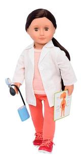 Our Generation Doctora Nicola Muñeca 46cm Accesorios X Ray