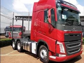 4 Caminhões Volvo Fh 540 6x4 Globetrotter 16/17