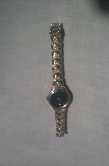 Relógio Feminino Folheado A Ouro