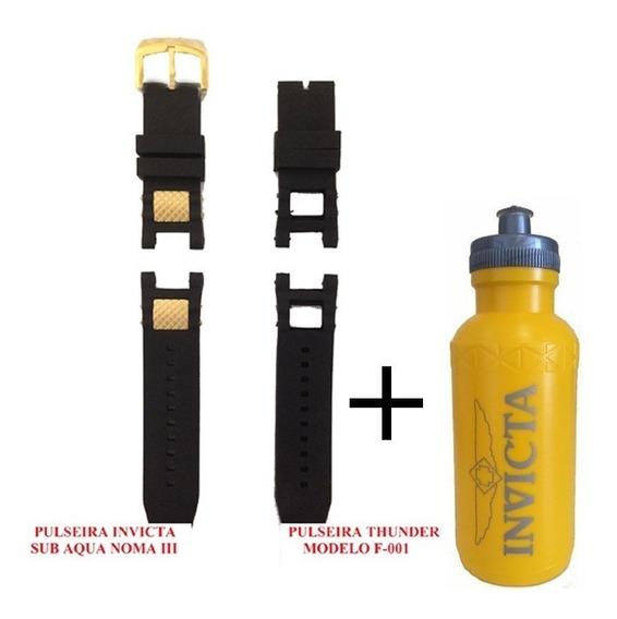 Pulseira Relógio Invicta Subaqua Noma Iii + Squeeze Invicta